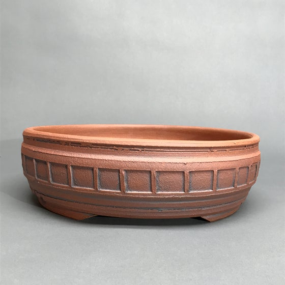 Image of 311 Unglazed Banded Round