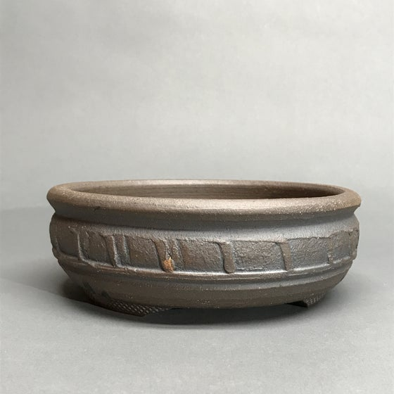 Image of 313 Banded Round Bonsai Pot