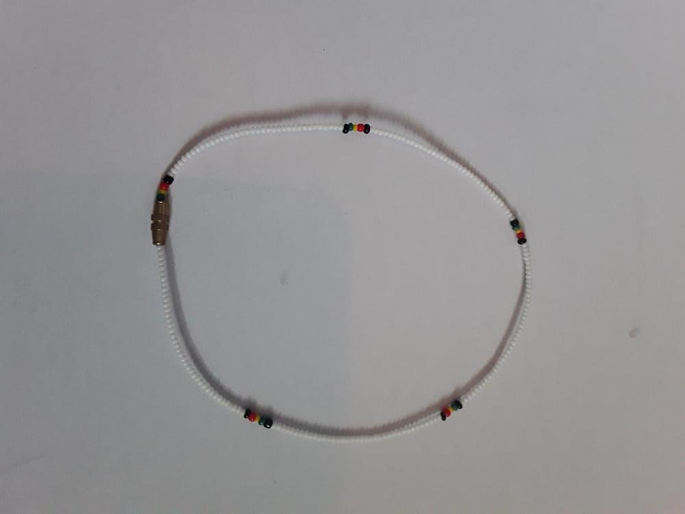 Image of White RBG Bracelet