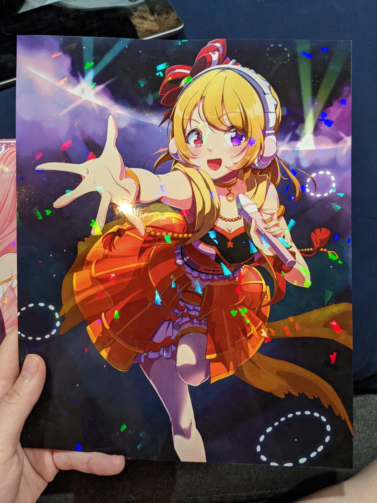 Rinku signed print (holographic)