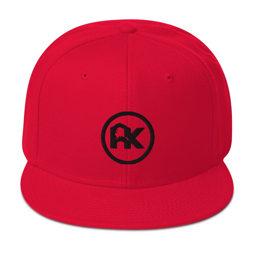 Image of CJAK logo - Black on Red