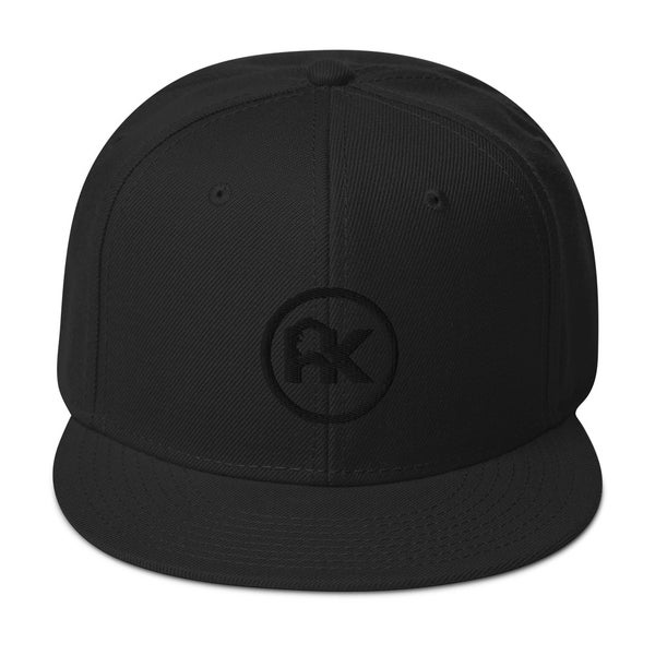 Image of *Limited Edition* CJAK logo - Black on Black