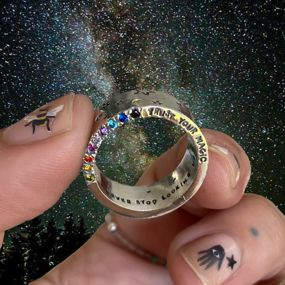 Image of trust your magic ring.
