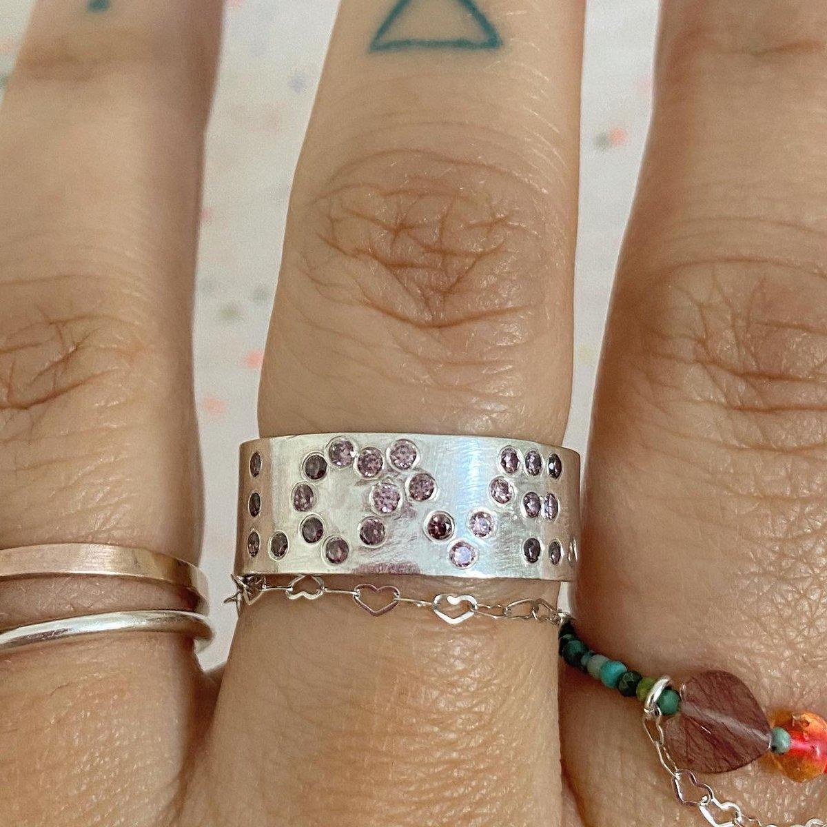 Image of U are my rainbow ring