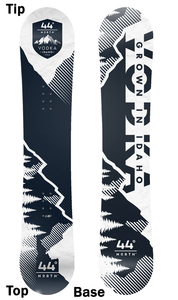 Image of 44º North Vodka Snowboard