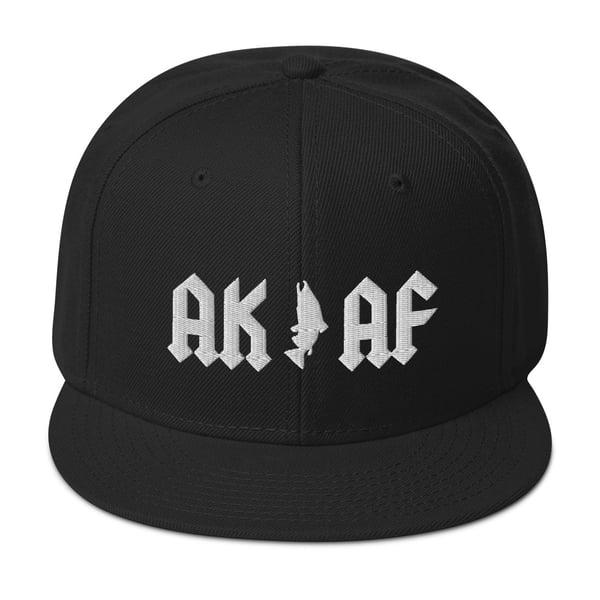 Image of AK AF - White on Black