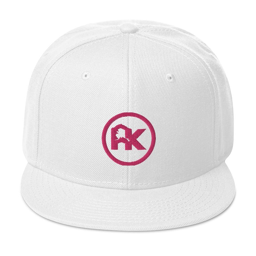 Image of CJAK logo - Pink on White