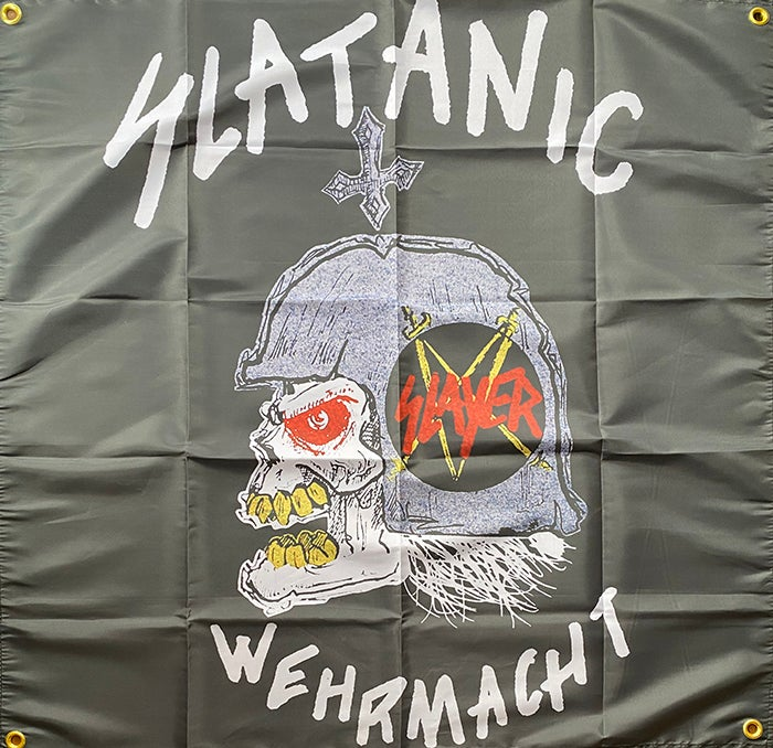 Image of Slaytanic Wehrmacht - Slayer - Flag / Banner / Tapestry