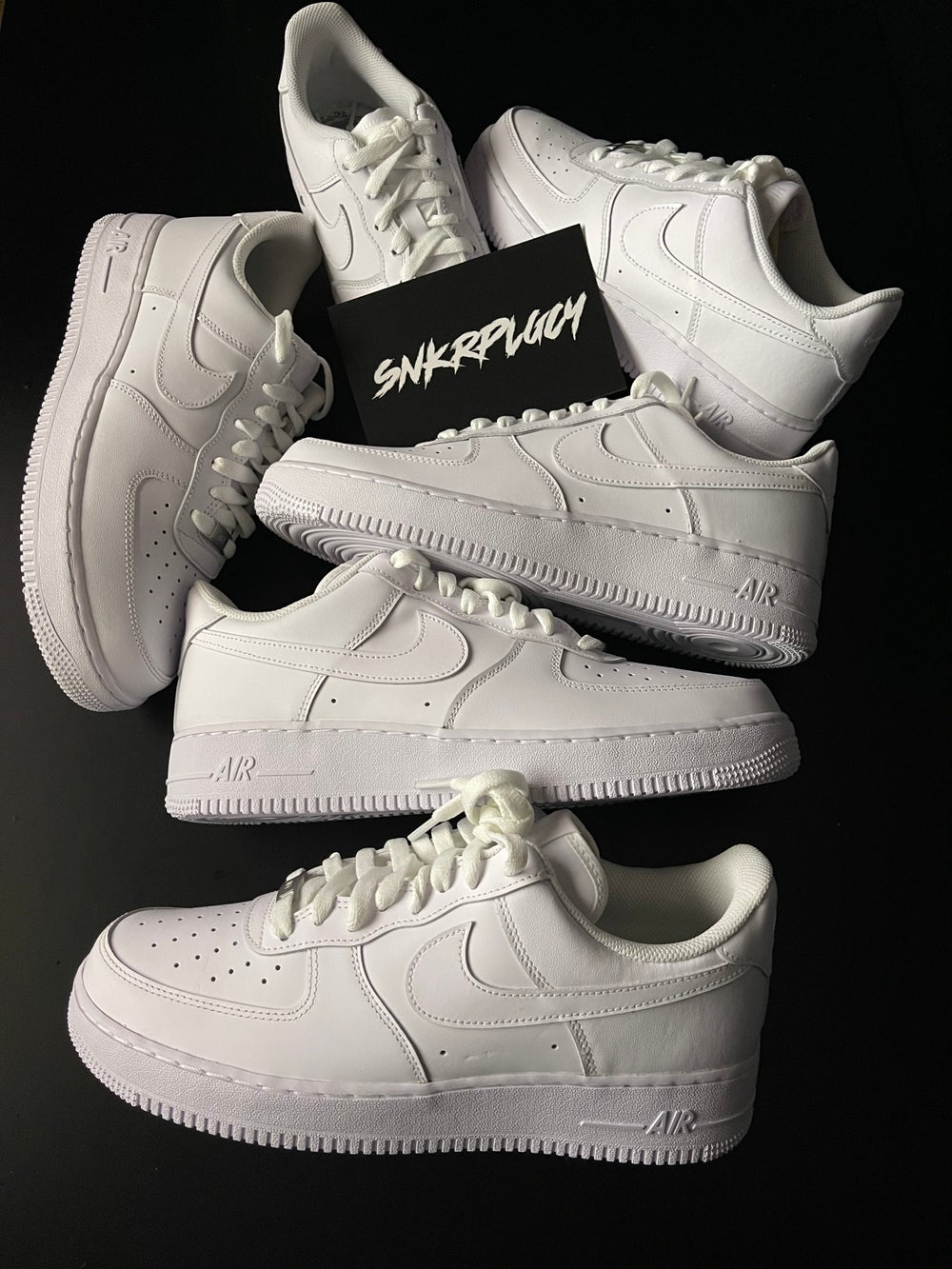 """Nike Air Force 1 """"Triple White"""""""