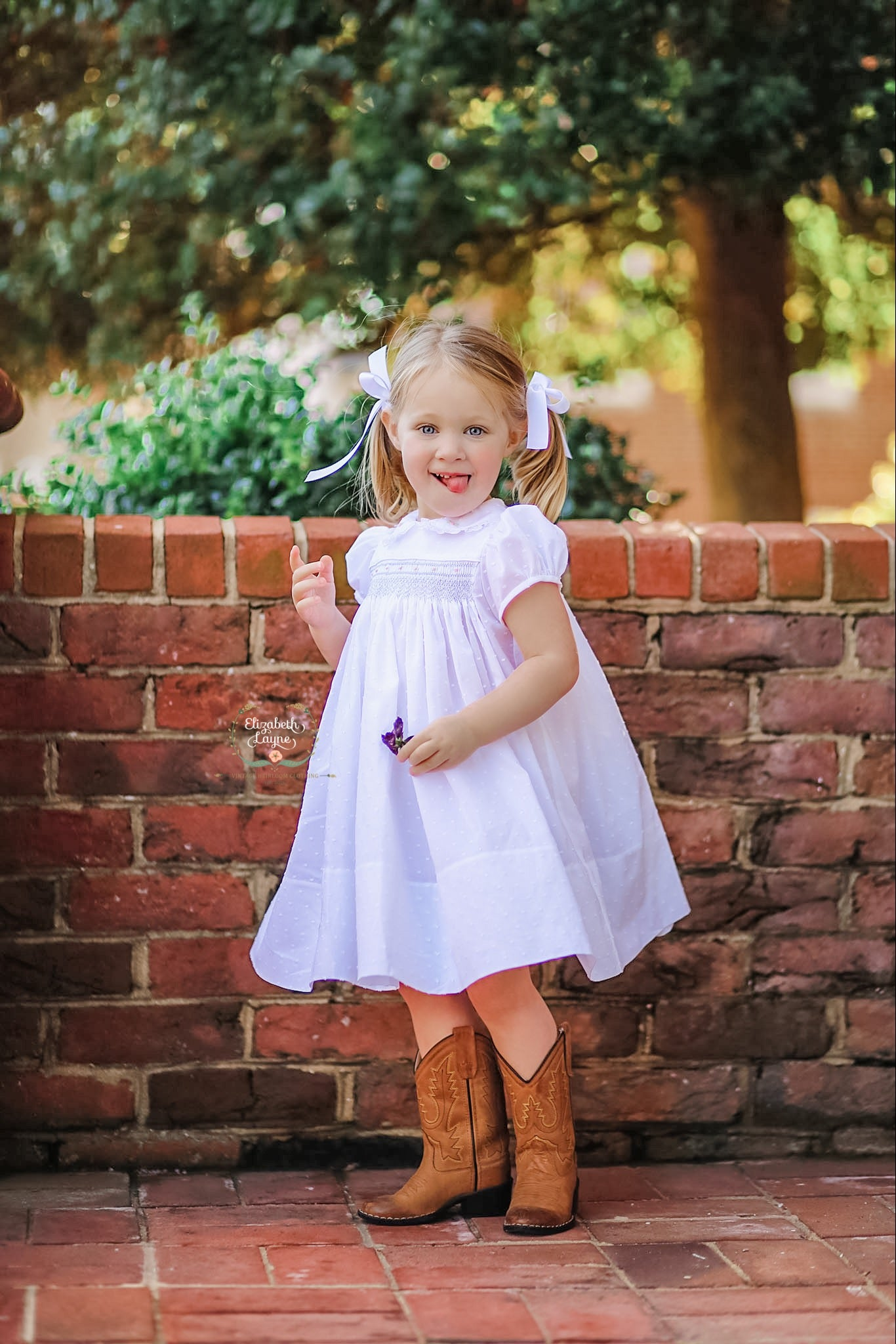 Image of The Avaley Hand Smocked Dress