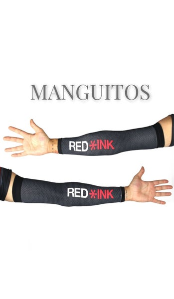Image of MANGUITO TÉCNICO RED/BLACK