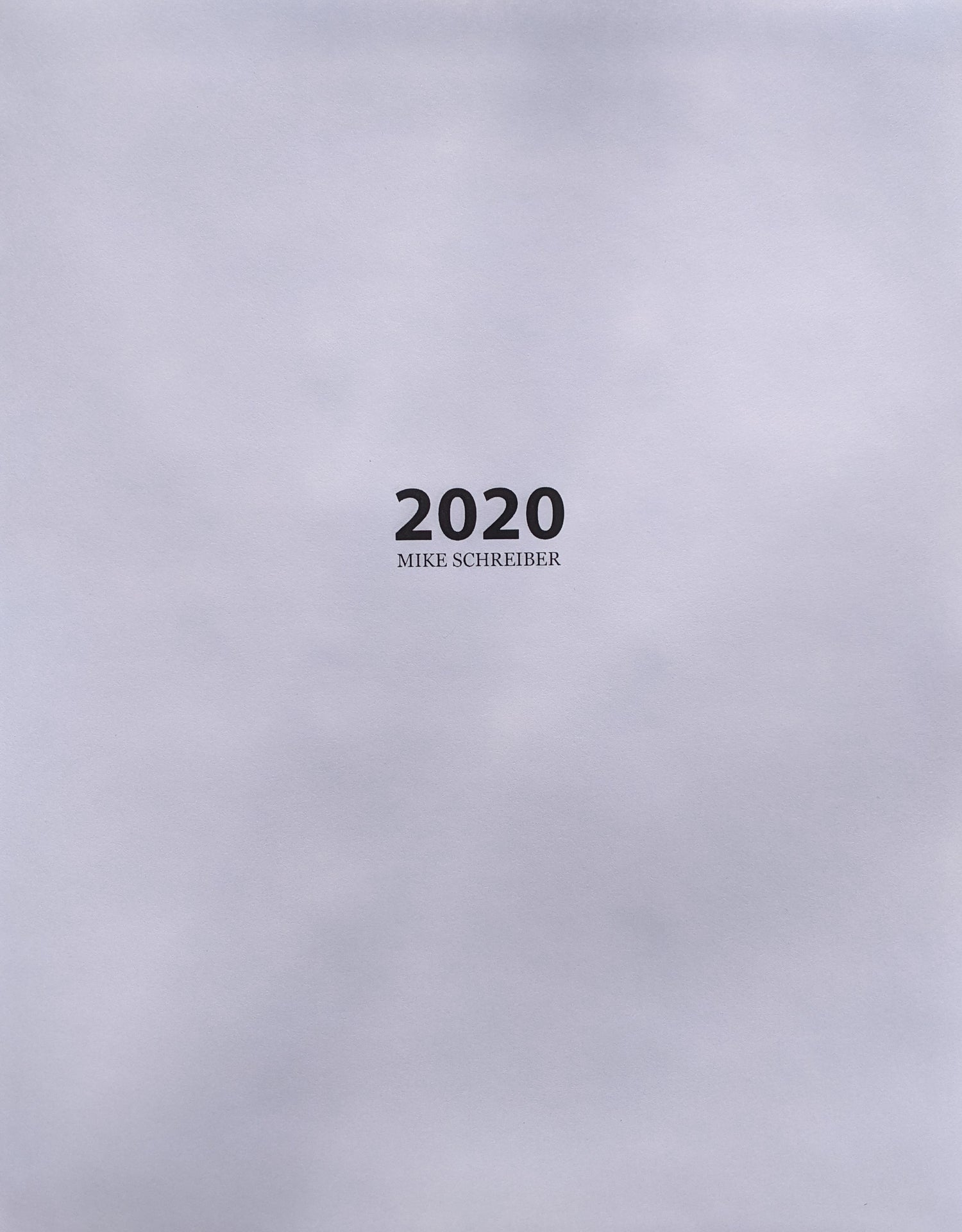 Image of 2020 Book
