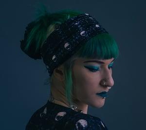 Image of Sacred Nothing Brocade Headband/Neck Gaiter
