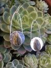 Bumblebee Jasper Space Queen Drop Earrings