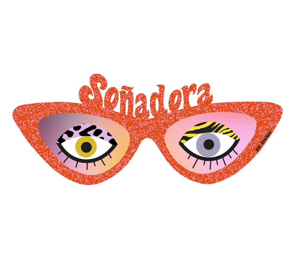 Image of Dreamer Vision Sunglasses Sticker
