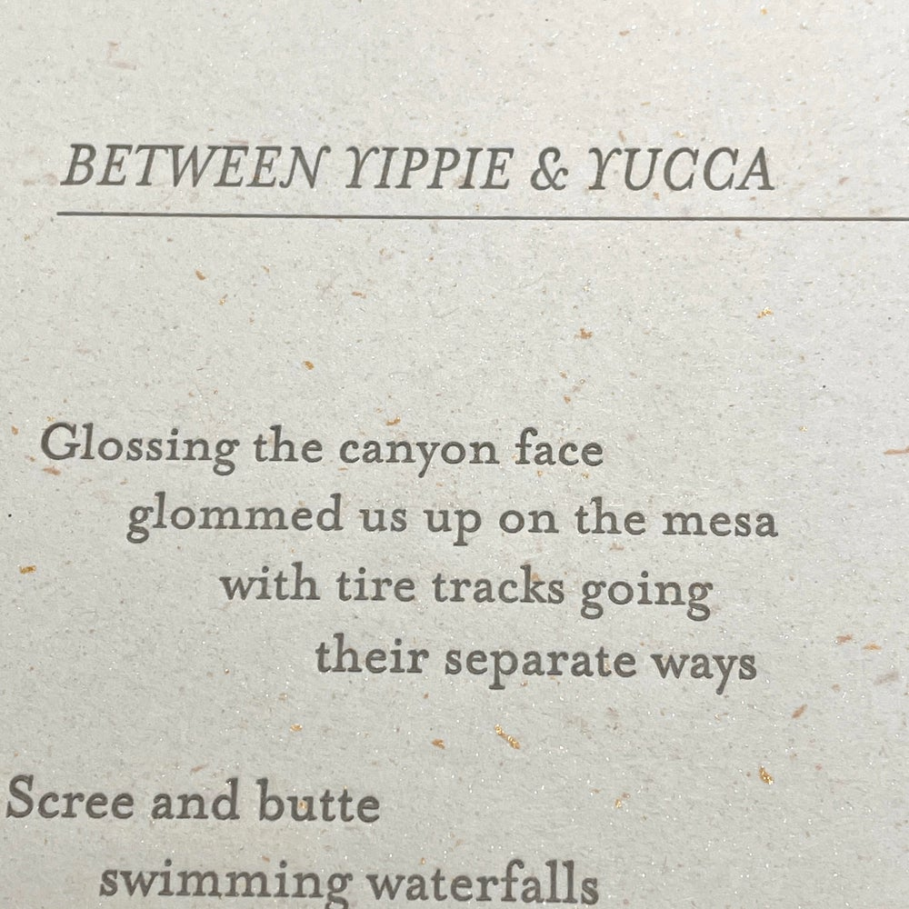 Between Yippee & Yucca