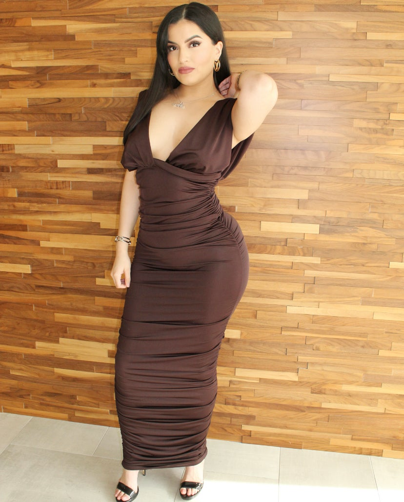 Image of Chocolate   Dress