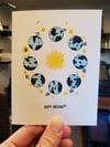 Rings Around the Sun greeting card (Birthday Variant)