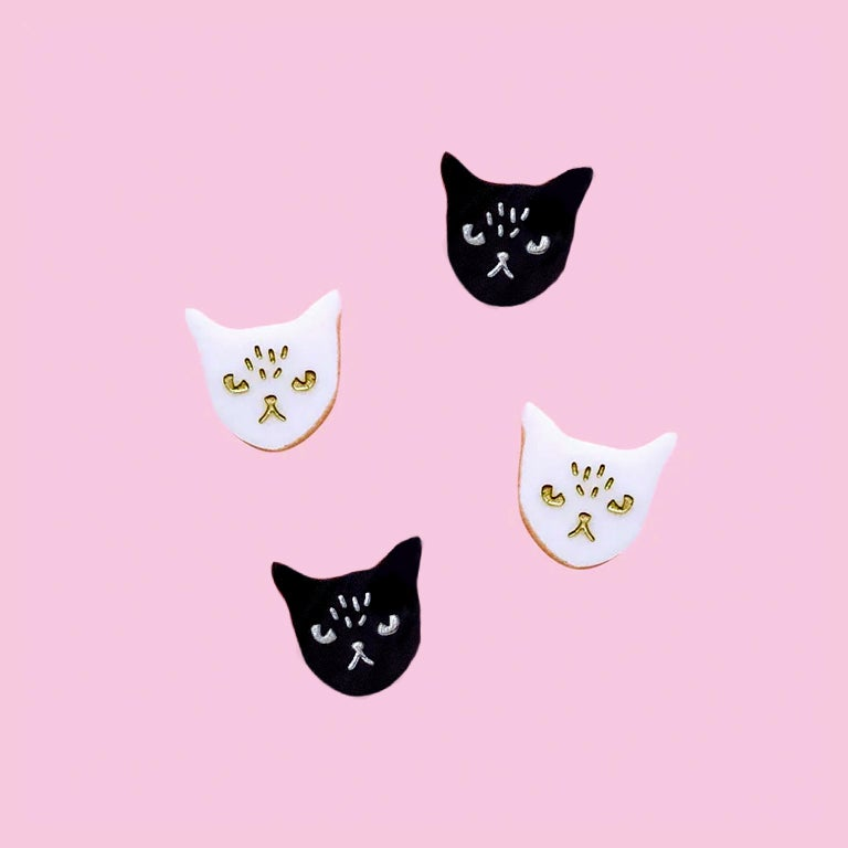 Image of Cat Studs Mini (Set of 4)