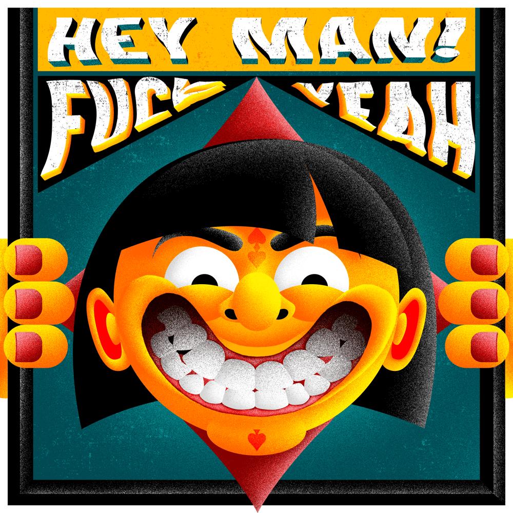 """""""Hey Man Fuck"""" par Sandre"""