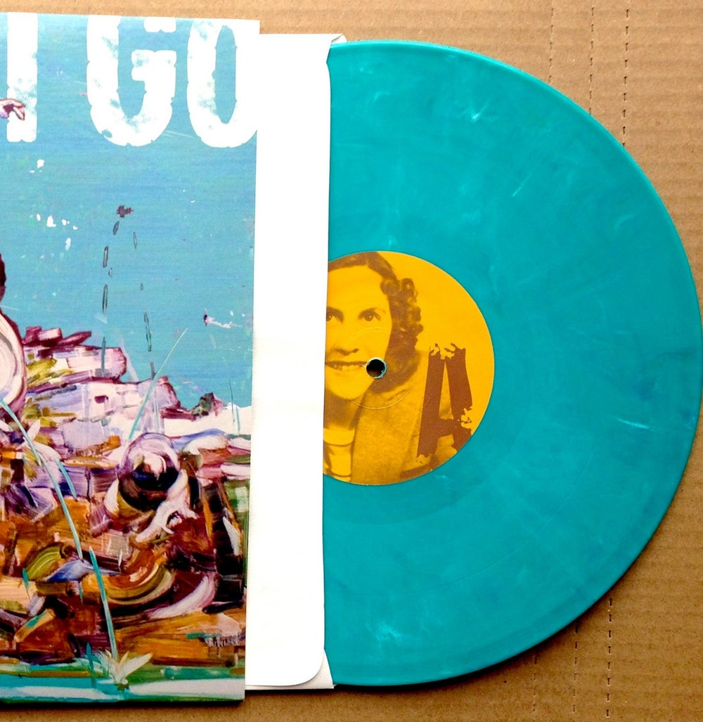 Down I Go 'Gods' EP - Limited Edition Aquamarine Vinyl