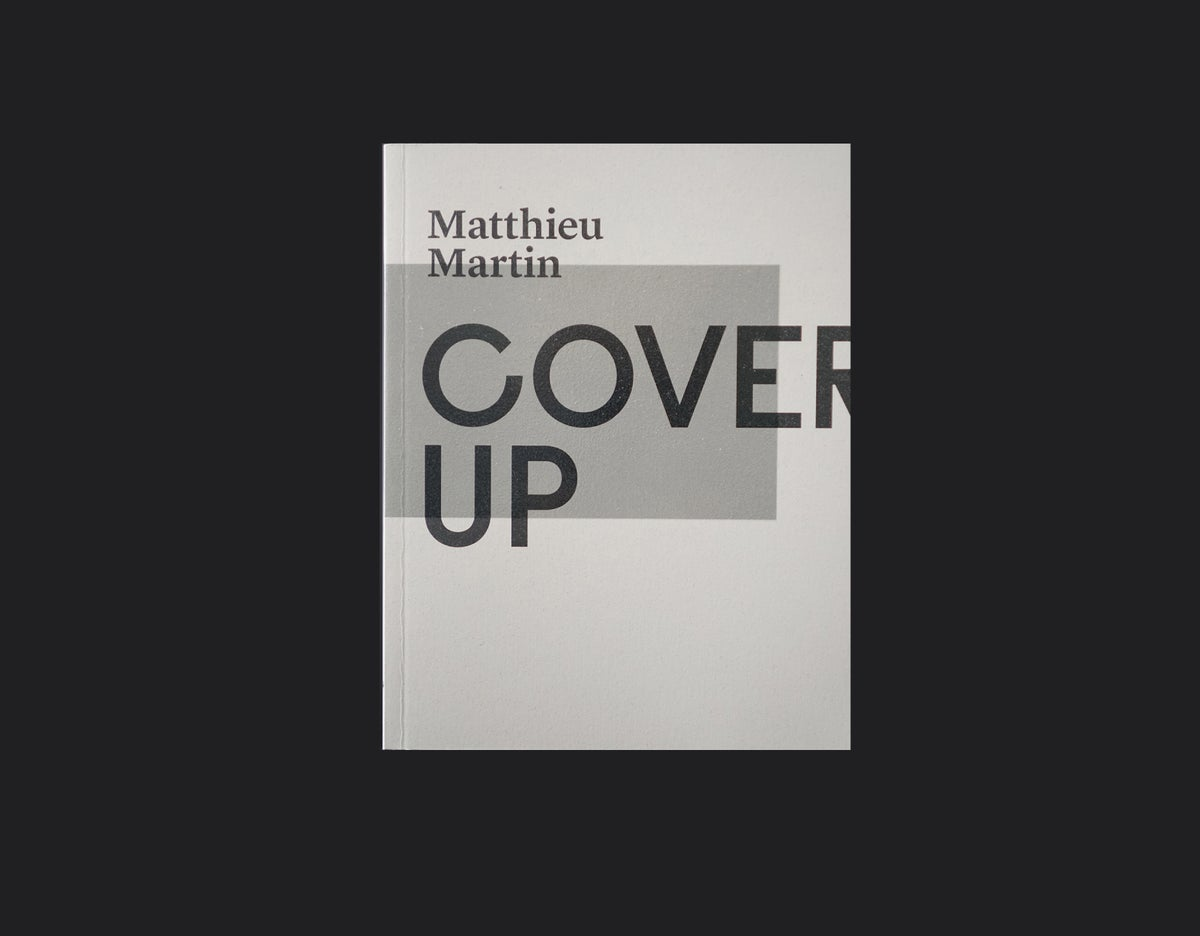Image of COVER UP (Book)
