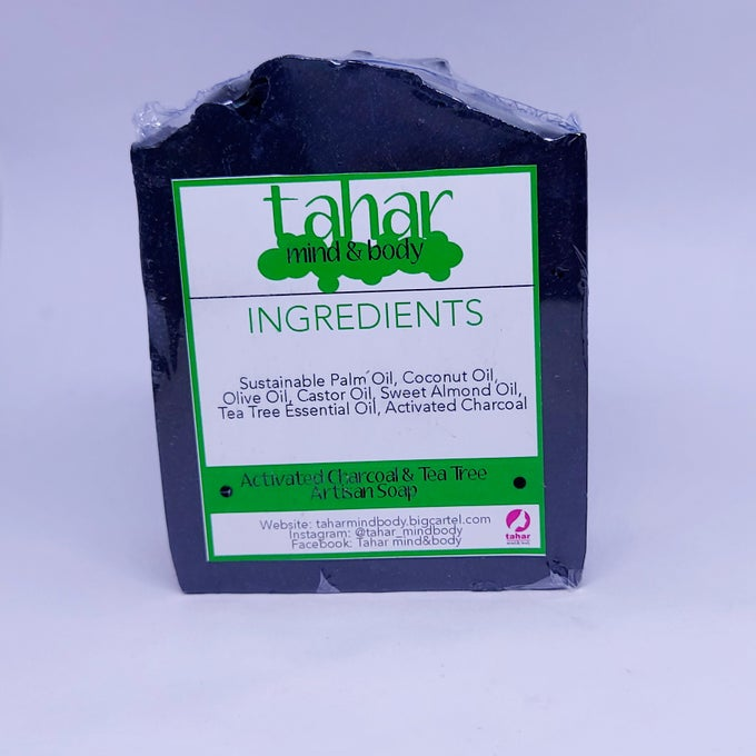 Image of Activated Charcoal & Tea Trea Face & Body Soap