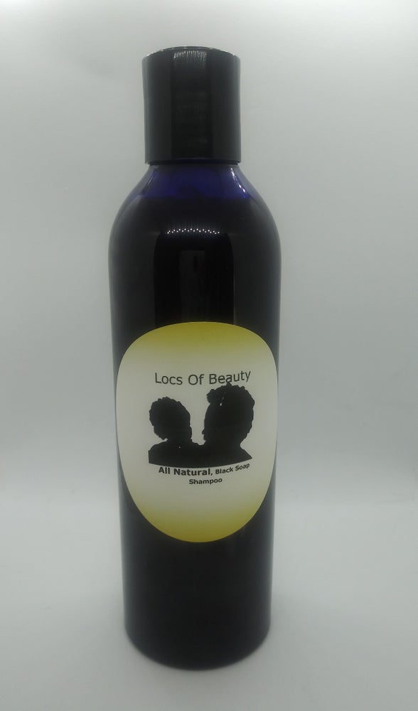 Image of African black soap conditioning shampoo