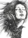 Shadow Weaver Print