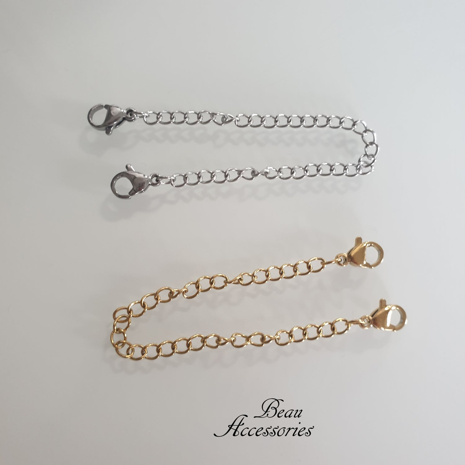 Image of Double Clasp Necklace Extender