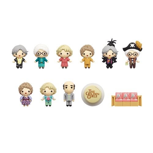 Image of Golden Girls Figural Bag Clip