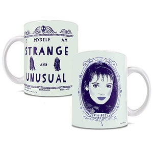 Image of Beetlejuice Strange and Unusual 11 oz. White Ceramic Mug