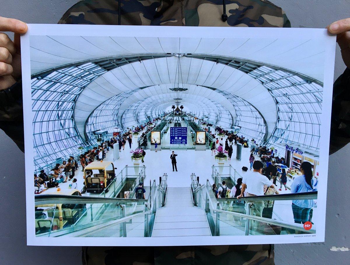Image of Bangkok airport 2005 di Paolo De Francesco