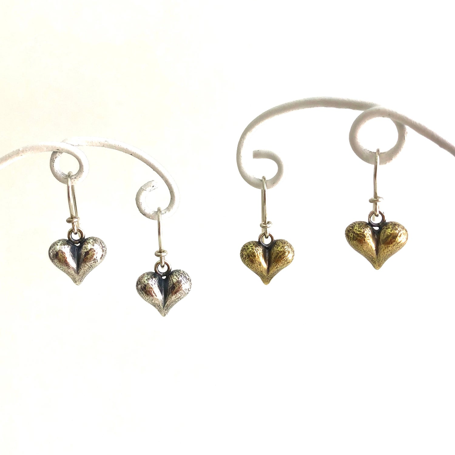 Image of Cheeky heart earrings