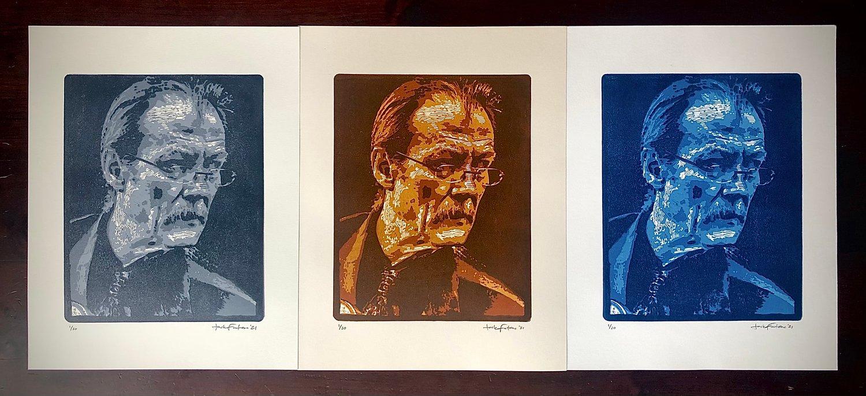 Image of Freeborn Man prints