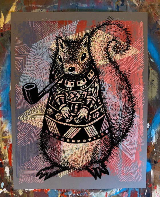 Image of Pretentious Squirrel Poster