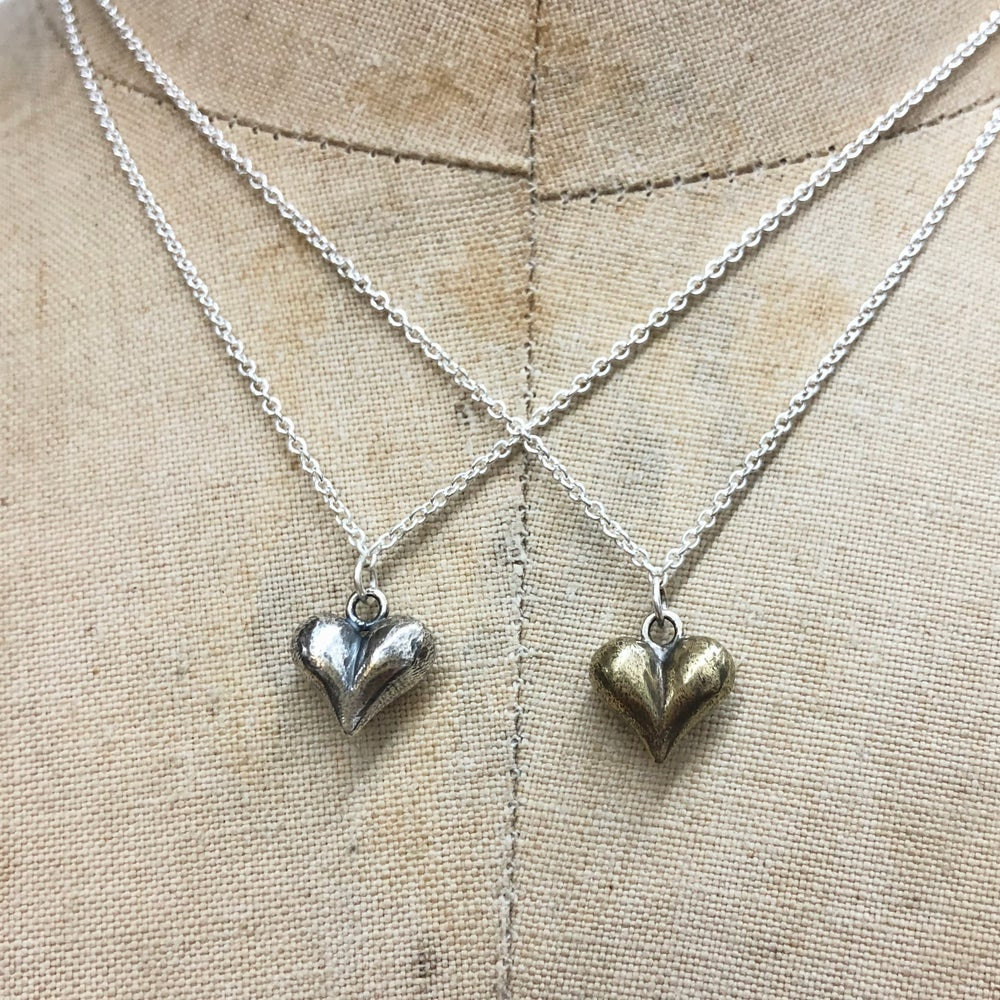 Image of Little cheeky heart necklace