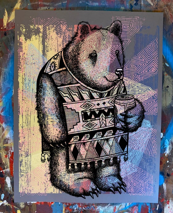Image of P. Bear Poster