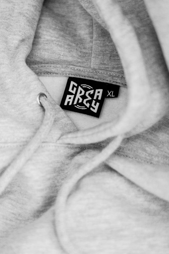 Logo Hoody Grey/Black logo