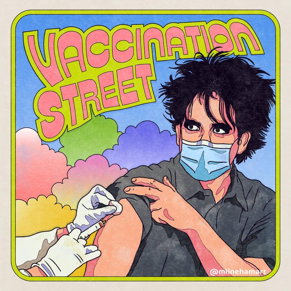 Vaccination Street –Art Print