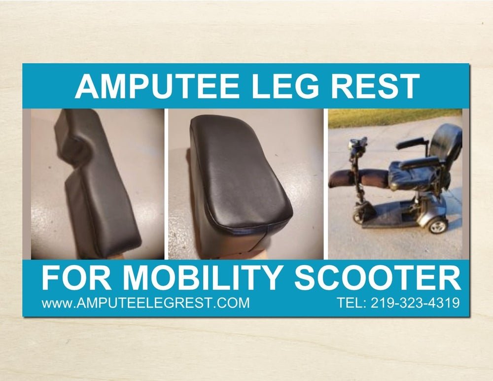 Image of  ABOVE KNEE AMPUTEE LEG REST