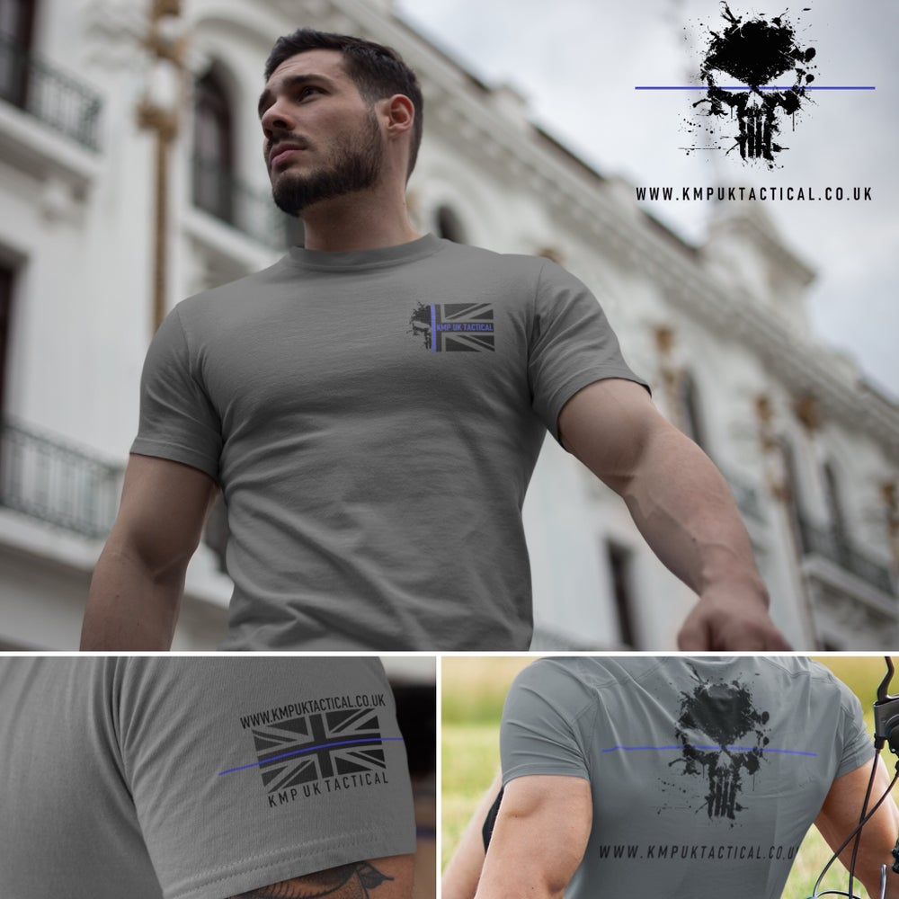"Image of KMP UK TACTICAL TBL ""PUNISHER� T-Shirt"