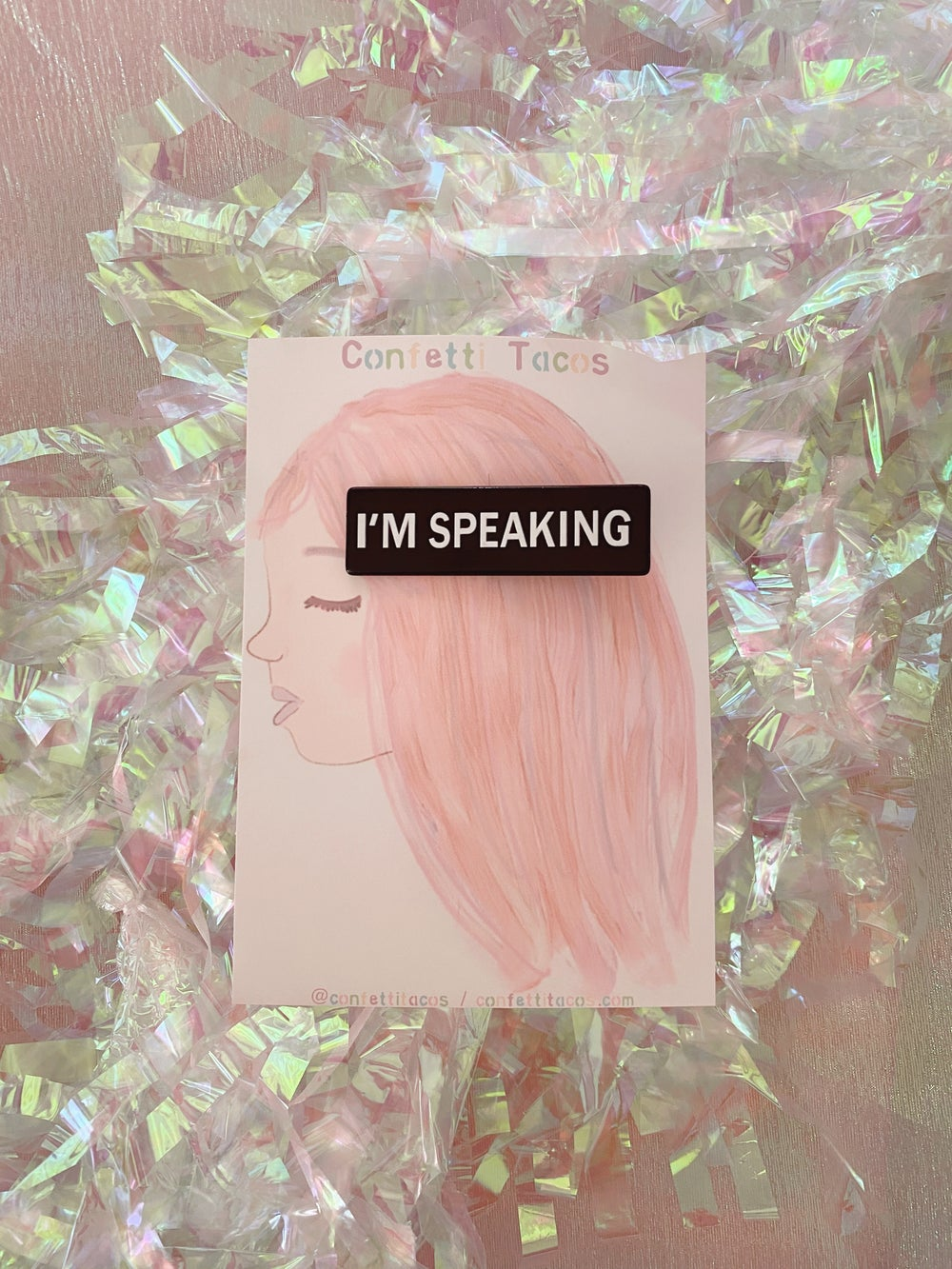 Image of Confetti Clips | I'M SPEAKING