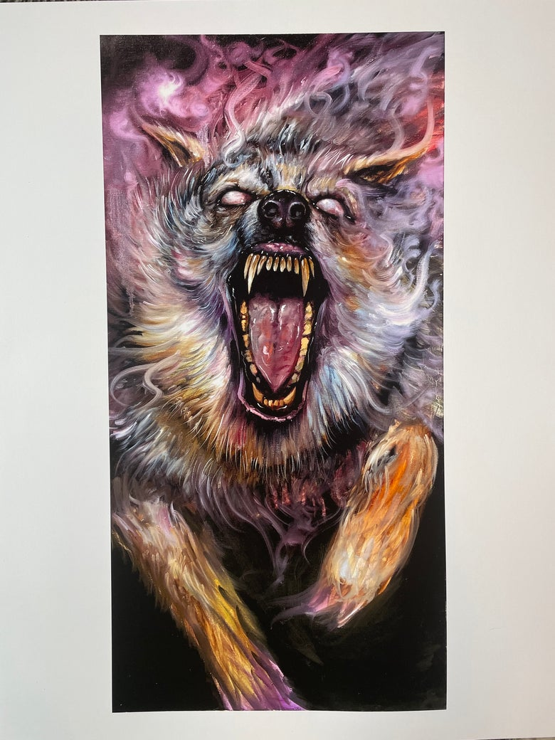 Image of Astral Beast ( Print )