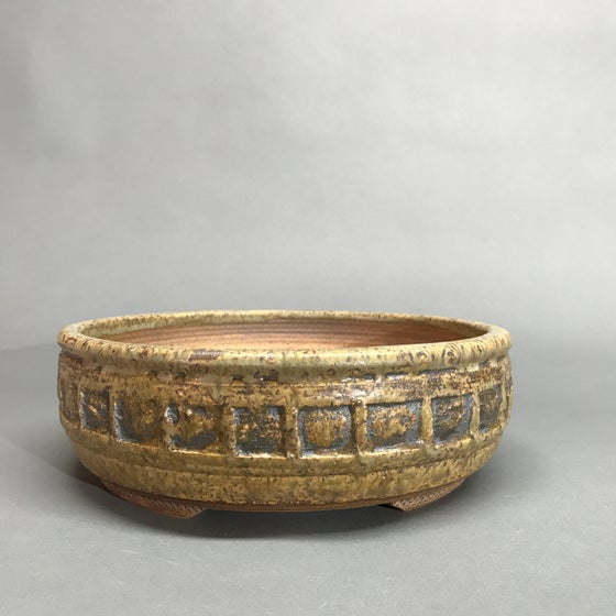 Image of 319 Banded Round Bonsai Pot