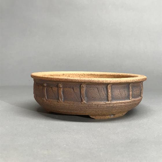 Image of 320 Unglazed Textured Bonsai Pot