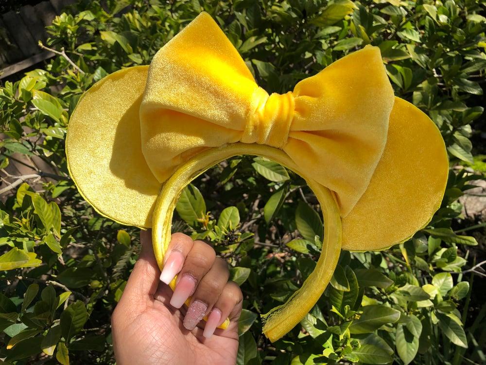 Image of Sunshine velvet mouse ears