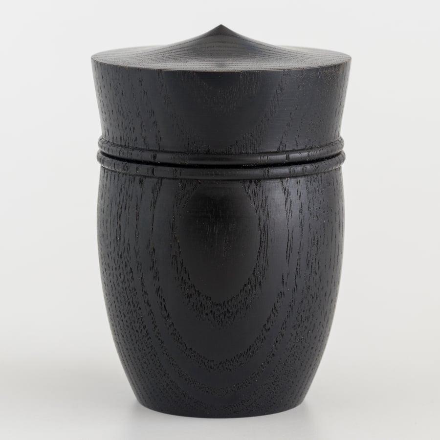 Image of Handmade Keepsake Box - Ebonized Ash