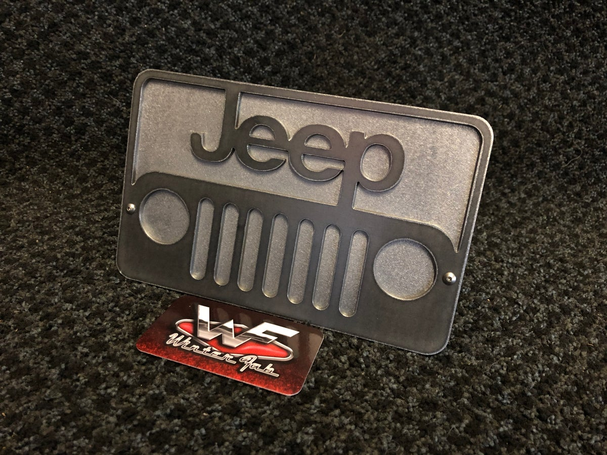 Image of Jeep Two Layer Hitch Cover
