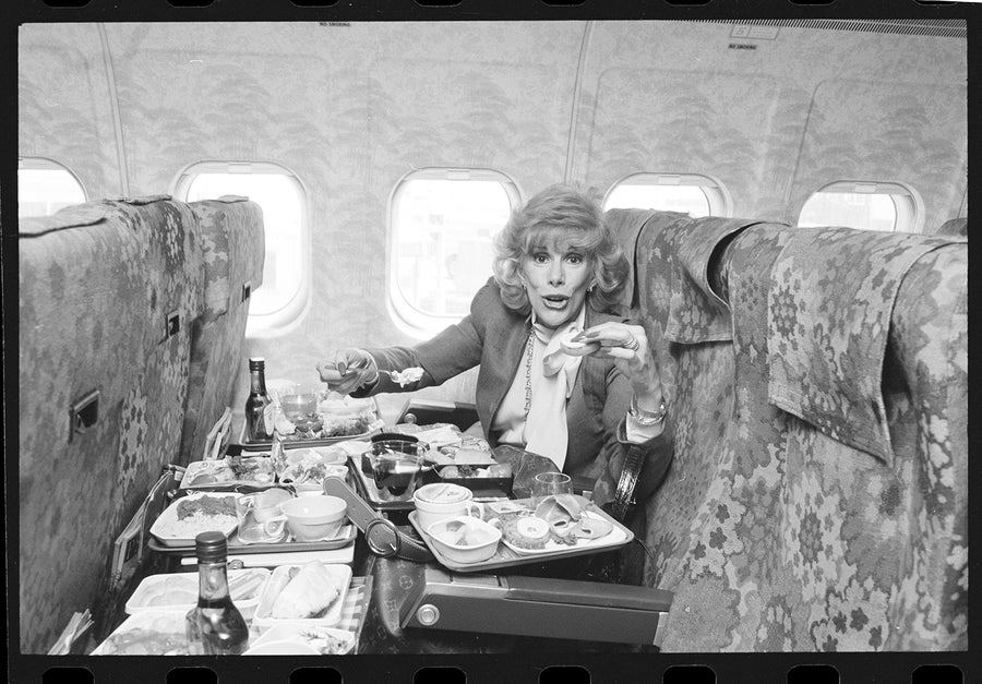 Image of Oh Grow Up! Joan Rivers Flying Coach Late 70s